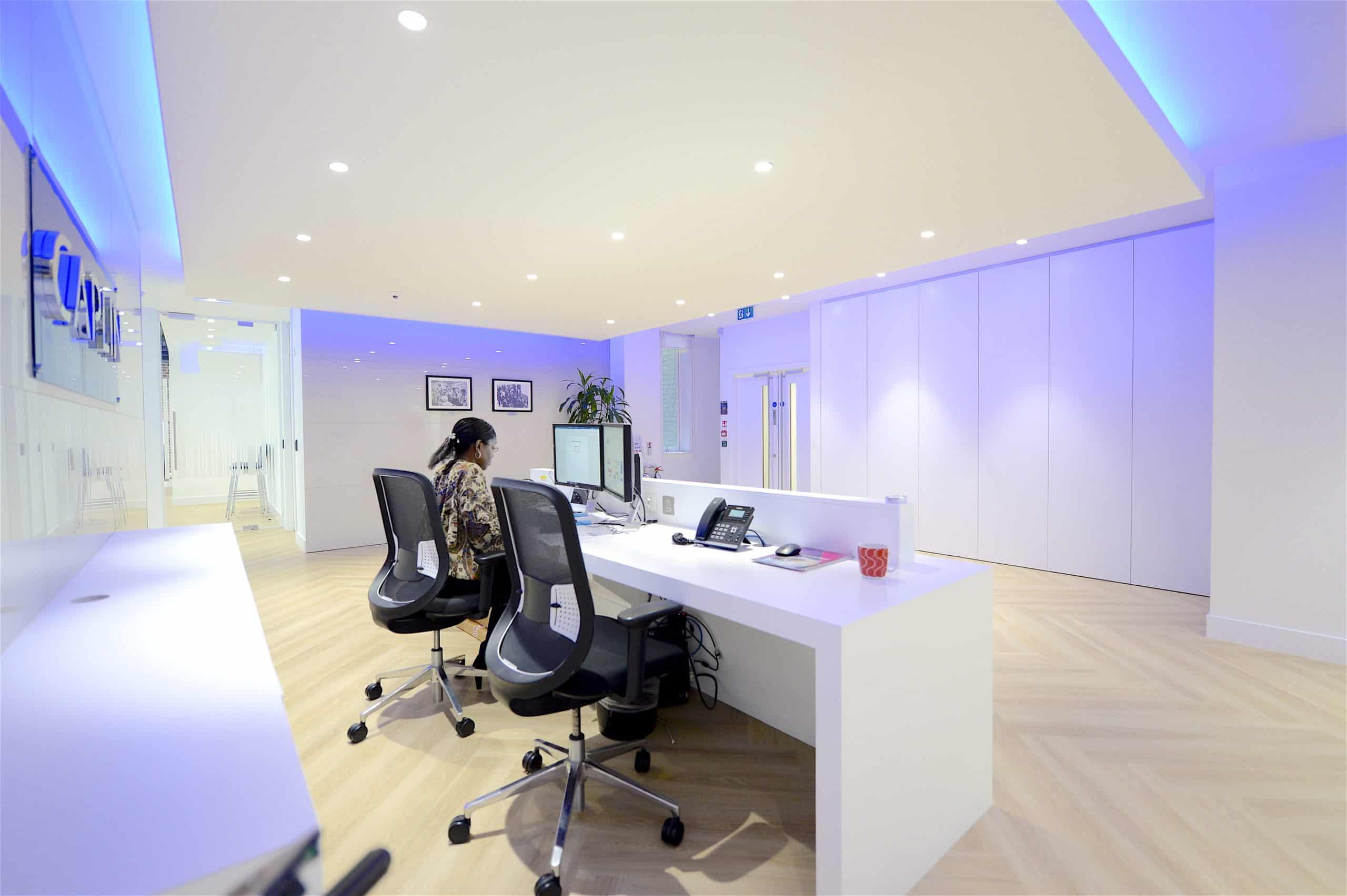 Design Inspiration - Reception   Grosvenor Workspace Solutions 11