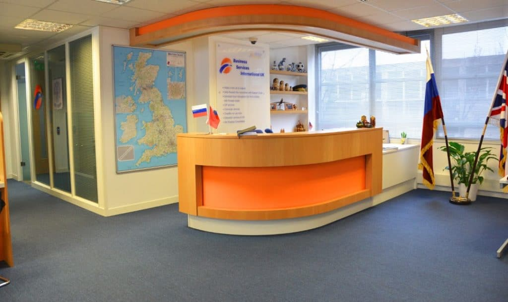 Russian National Tourist Office a client of Grosvenor Workspace Solutions specialists in Office Refurbishment and Office Fit-Out in Central London